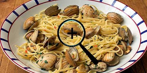 острые фасолевые спагетти